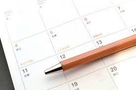 プログラミング・スクールのカレンダーの写真