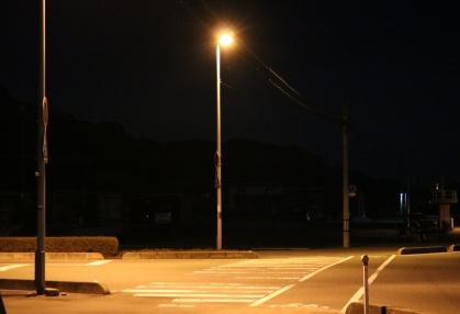 右田本社前交差点